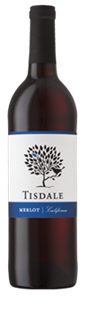 Tisdale Merlot 750ml - Case of 12